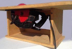 Комбинированный стол своими руками