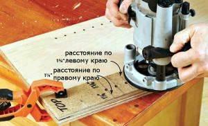 шаблон для фрезера