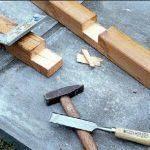 ножовку, стамеску и молоток