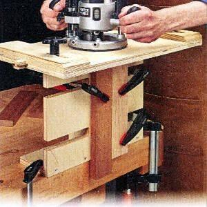 Как сделать шип паз ручным фрезером