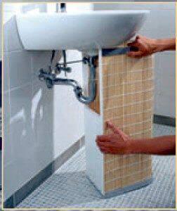 Как украсить раковину в ванной