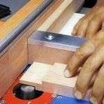 Изготовление шипа на ручном фрезере