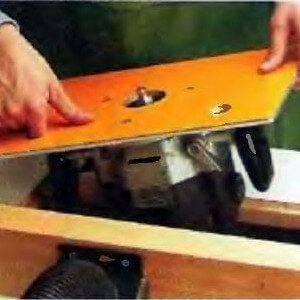 Как сделать пластину для фрезера