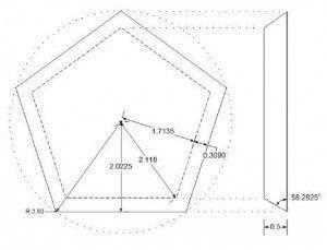 пятиугольная грань